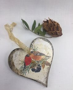 This item is unavailable Christmas Makes, 1st Christmas, Christmas Items, Handmade Christmas, Christmas Stockings, Christmas Tree Decorations, Christmas Ornaments, Woodland Christmas, Romantic Gifts