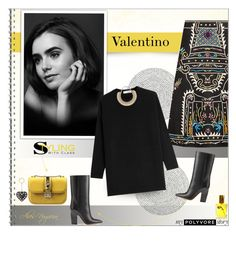 """""""Valentino"""" by alves-nogueira ❤ liked on Polyvore featuring Valentino, Trilogy, Flidais Parfumerie, fashionista, valentino and hautecouture"""