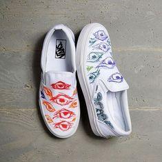 Shoes by 2018 Vans Custom Culture Ambassador, Dane Gudauskas ambassador culture custom gudauskas shoes Genel is part of Shoes - Custom Vans Shoes, Mens Vans Shoes, Vans Sneakers, Custom Sneakers, Vans Men, Vans Shoes Fashion, Painted Canvas Shoes, Painted Jeans, Tenis Vans