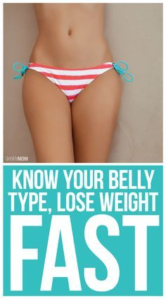 Shed pounds based on your belly type!