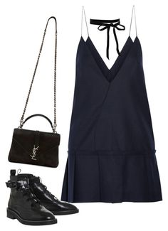 """""""Untitled #4452"""" by lilaclynn ❤ liked on Polyvore featuring Jacquemus, Yves Saint Laurent, YSL, saintlaurent and yvessaintlaurent"""