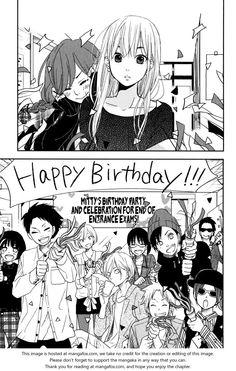 Tonari no Kaibutsu-kun 47: Third-Year Students - Yamaken's face :DDD I am literally cracking up at his reaction to Shizu's transformation