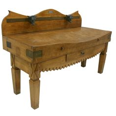 1stdibs - 19th Century French Butcher Block Table explore items from 1,700  global dealers at 1stdibs.com