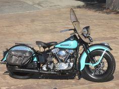 1947 Harley-Davidson FL Knucklehead Engine no. 47 FL 2149