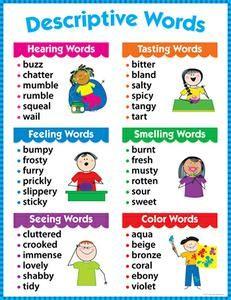 Descriptive Words Chart Gr 1-3 | SS-16564 | CTP4171
