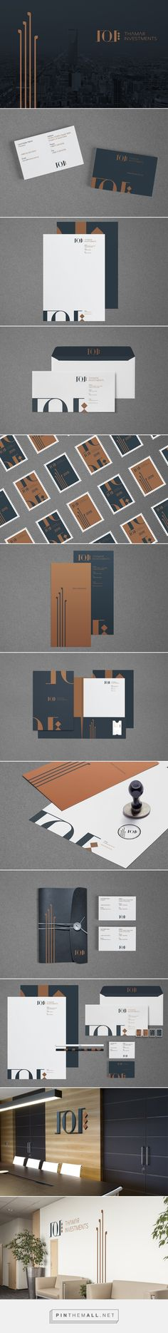 Thamar Investments Branding by Mohd Almousa   Fivestar Branding Agency – Design and Branding Agency & Curated Inspiration Gallery