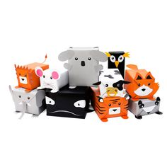 Wrap and roar! Dress your gifts up as cute creatures to give your nearest and dearest!