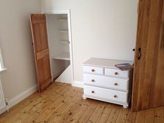 Oak ledged doors upcycled drawer unit Victorian boards. Solid Oak Doors, Fitted Wardrobes, Drawer Unit, Upcycle, Drawers, Boards, Victorian, Flooring, Cabinet