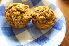 Pumpkin Applesauce Muffins on theadventuresofnutrigirl.wordpress.com