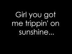 Running on Sunshine Lyrics - Grey's Anatomy
