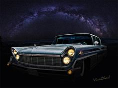Alien Lincoln Roswell Saturday Night reveals the Alien Technology apparent in the 1959 Lincoln thought to have originated Off World by VivaChas Hot Rod Art
