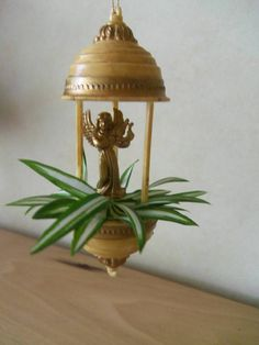 1:12 Retro Oil Lamp Dollhouse Miniature Toy Doll Home Living Room Deco Tx
