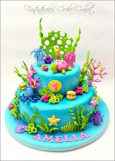 Sunday Sweets Goes Under The Sea — Cake Wrecks Ocean Cakes, Beach Cakes, Sirenita Cake, Bolo Fack, Rodjendanske Torte, Nemo Cake, Ariel Cake, Little Mermaid Cakes, Cake Wrecks