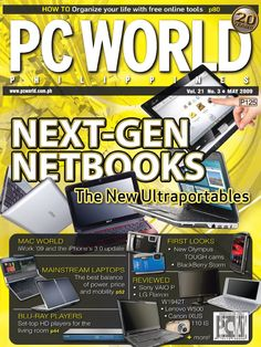 PCWorld Philippines May 2009 cover