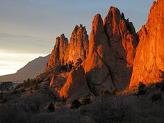 Garden of Gods in Colorado Springs, Colorado - moved to Places I've Visited as of 9/2011 :-)