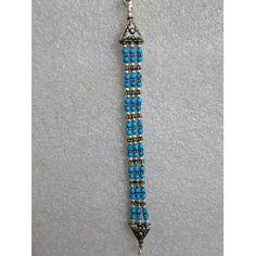 Silver Oxidized Bracelet Studded with Turquoise Stone Indian Jewelry Jewelry (Jewelry)