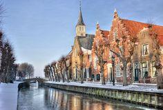 Sloten de geboortestad van mijn vader,  Friesland