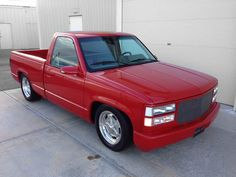 Lot 326 - 1992 #CHEVROLET 454SS CUSTOM #PICKUP No Reserve Original red 454SS truck with custom grille, bumper and roll pans. Custom interior, upgraded suspension and American Salt Flat wheels. #BarrettJackson
