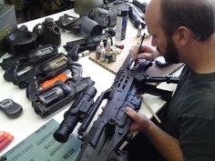 Making (real) guns! | www.facebook.com/torredejogos