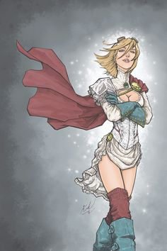 Steampunk Power Girl by Johnni K.