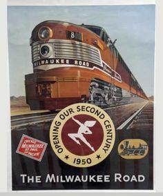 Milwaukee Road Ad.: