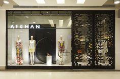 Design de interiores, projetos comerciais. Loja Afghan, Shopping Nova América - 2014. Retail - Shop Spaces - Rio de Janeiro