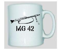 Tasse MG 42 - Maschinengewehr 42 / mehr Infos auf: www.Guntia-Militaria-Shop.de