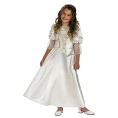 Pirates-of-the-Caribbean-Elizabeth-Swann-White-Child-Costume-Dress-Disguise-6362