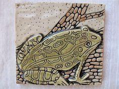 Carved Ceramic Tiles