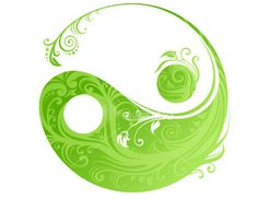 The ying yang is the Japanese idea of zen (balance)