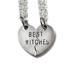 Best Witches Heart Necklace   38 Perfect Pieces Of Jewelry To Share With Your Best Friend