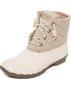 Women S Sperry Saltwater Quilted Wool Boots Scheels In
