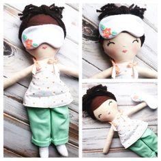 SpunCandy Handmade Dolls, Dress up dolls, doll pajamas