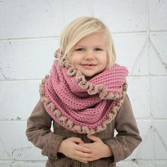 Instant Download - Crochet Pattern - Loopy/Hoody Cowl Scarf (Toddler/Child and Adult #Headband