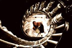 Wedding Photography - Bride looking up a spiral staircase Spiral Staircase, Looking Up, Wedding Photography, Bride, Wedding Shot, Spiral Stair, Wedding Bride, The Bride, Bridal