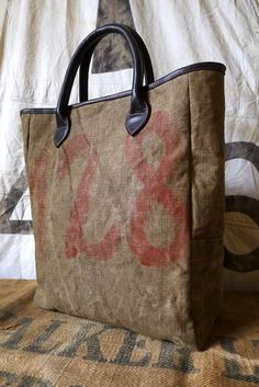 Vintage Tent Canvas bags, Tamara Fogle