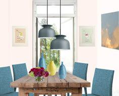 Tavolo rustico collage virtuale di Mirella Parer