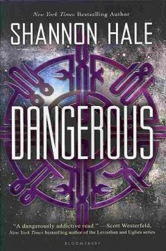 Dangerous by Shannon Hale - When aspiring astronaut Maisie Danger Brown and the other space camp students get the opportunity to do something amazing in space, Maisie must prove how dangerous she can be and how far she is willing to go to protect everything she has ever loved. Recommended by: Sharon Long, Teen Services Librarian