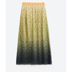 TIE - DYE ACCORDION PLEAT SKIRT-Midi-SKIRTS-WOMAN | ZARA Finland (81 BRL) ❤ liked on Polyvore featuring skirts, accordion pleated skirt, pleated skirt, calf length skirts, tie-dye skirt and tie dyed skirts
