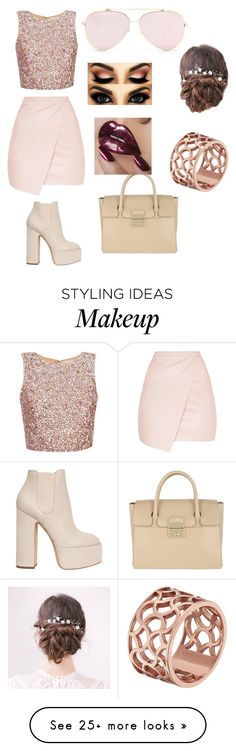 """I do me and you do you"" by yoselinrangel451 on Polyvore featuring Laurence Dacade, Furla and Tartesia"
