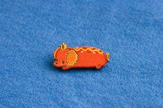 Wooden brooch badge hotdog princess adventure time pin weiner dachshund cartoon