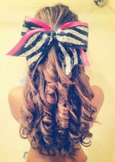 Perfect cheer hair LOVE it!!!!