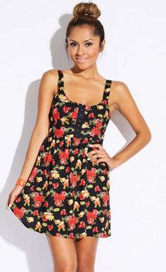Fruit Punch Sun Dress $32   shopmodmint.com