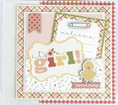 Artsy Albums Mini Album and Page Layout Kits and Custom Designed Scrapbooks by Traci Penrod: Carta Bella It's A Boy It's A girl Baby Album Kits