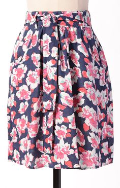 Heartbreaker Skirt- Sodalite Blossoms