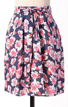 Heartbreaker Skirt- Sodalite Blossoms
