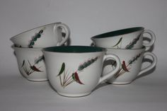 Single English stoneware Denby cup tea coffee by MillCottageRetro