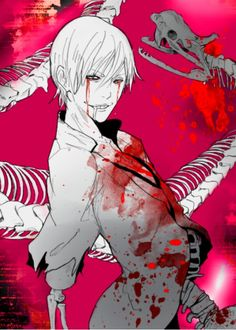 Bloody anime boy Guro …