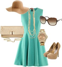 """Summer Chic"" by devonadele on Polyvore"