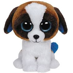 Klein maar fijn is deze zachte 'Duke' doggy Beanie Boo | Olliewood